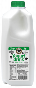 Yogurt Drink Mint Flavor 0.5 gal.