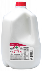 Yogurt Drink Ayran Plain 1  gal.