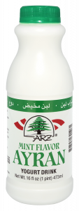 Yogurt Drink Ayran Mint Flavored 1 pt.