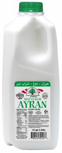 Yogurt Drink Ayran Mint Flavored 0.5 gal.