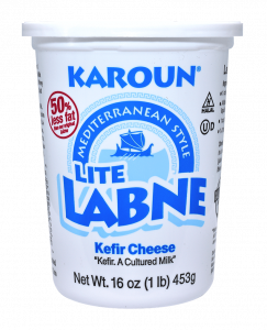 Labne Mediterranean Light Kefir Cheese 16 oz.