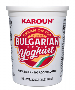 Bulgarian Yoghurt Cream On Top Whole Milk Plain 32 oz.