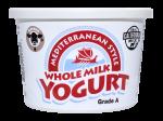 Yogurt Mediterranean Whole Milk Plain 16 oz.