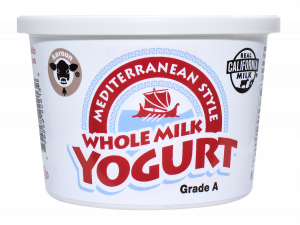 Yogurt Mediterranean Whole Milk Plain 16 oz.