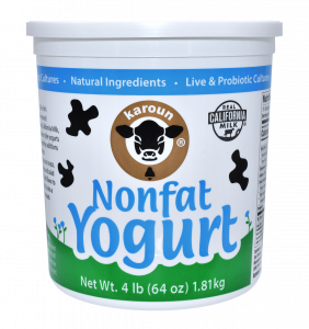 Yogurt Nonfat Plain 64 oz.