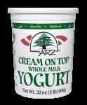 Yogurt Cream-On-Top Whole Milk Plain 32 oz.
