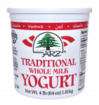 Yogurt Plain Whole Milk 64 oz.
