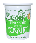 Yogurt Lowfat Plain 32 oz.