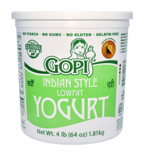 Yogurt Lowfat Plain 64 oz.