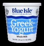 Greek Yogurt Whole Milk Plain 24 oz.