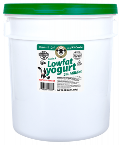 Plain Yogurt Lowfat Pail 32 lb.