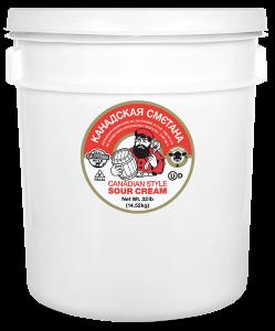 Canadian Style Sour Cream Pail 32 lb.