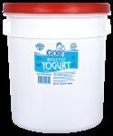Plain Yogurt Whole Milk Pail 32 lb
