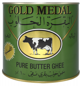 Gold Metal Pure Butter Ghee 1.6 kg .