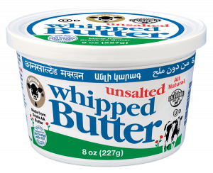 Butter Unsalted Whipped 8 oz.