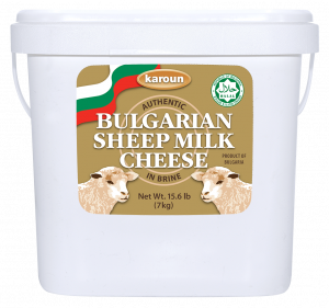Karoun Bulgarian Sheep Milk Cheese 7 kg.