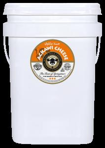 Ackawi Cheese Pail 25 lb.