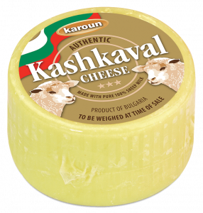 Sheep Milk Kashkaval Cheese Round 1 lb. apx.
