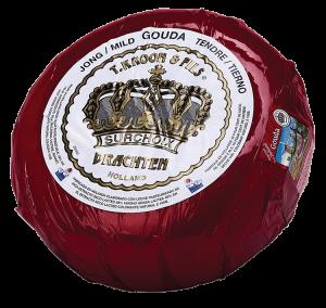 T. Kroon & Fils Mild Gouda 10 lb. apx.