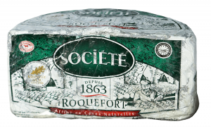Societe Roquefort Cheese 2.8 lb.