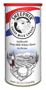 Sheepnik Sheep Milk Cheese in Brine 800 g.