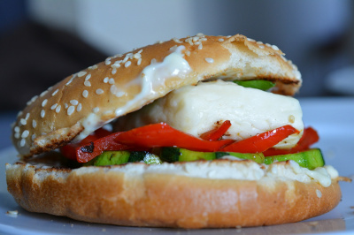 Veggie Grilling Cheese Burgers