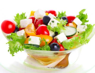 Garden Feta Salad